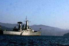 40_HMS_Minerva_anchored_off_Khor_Quai_Oct1971