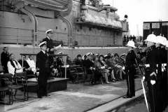 Commissioning_Oct_1968_Cdr_Armytage_addresses_ships_coy