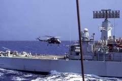 Minerva_helicopter_landing_Sept_1970